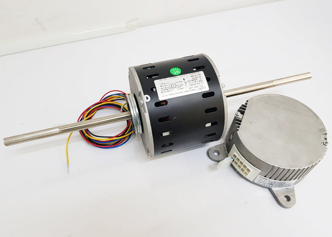 220V Brushless EC Fan Motor , Durable Double Shaft Fan Coil Motor For FCU